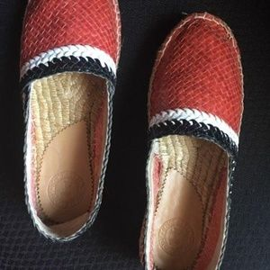 Penelope Chilvers Riviera Espadrilles in Red Motif